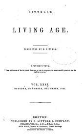 Littell's Living Age: Volume 31
