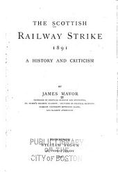 The Scottish Railway Strike, 1891: A History and Criticism