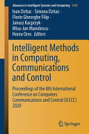 Intelligent Methods in Computing  Communications and Control PDF