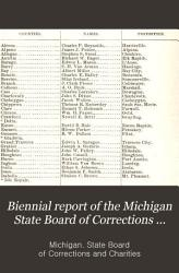 Biennial Report of the Michigan State Board of Corrections and Charities PDF