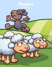 Pecore Libro da Colorare 1