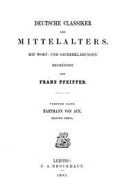 Hartmann von Aue: Êrec der Wunderaere