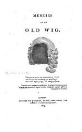 Memoirs of an Old Wig