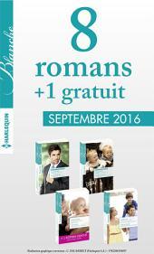 8 romans Blanche + 1 gratuit (no1282 à 1285 - Septembre 2016)