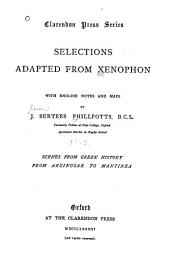 Selections Adapted from Xenophon: Part 1