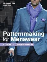 Patternmaking for Menswear PDF