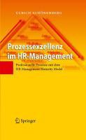 Prozessexzellenz im HR Management PDF
