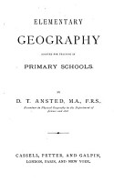 Elementary Geography Adapted for Teaching in Primary Schools PDF