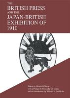 The British Press and the Japan British Exhibition of 1910 PDF
