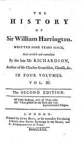 The History of Sir William Harrington: Volume 3