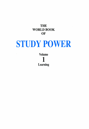 The World Book of Study Power