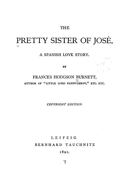 Download The Pretty Sister of Jos   Book