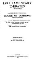 Parliamentary Debates  Hansard   PDF
