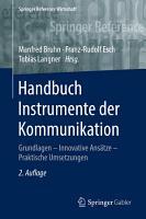 Handbuch Instrumente der Kommunikation PDF