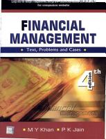 Financial Management  Text  Problems And Cases PDF