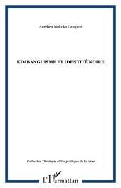 Kimbanguisme et identité noire