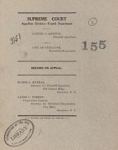 Supreme Court Appellate Division Fourth Dept. Vol. 3151