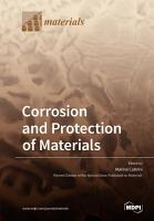 Corrosion and Protection of Materials PDF