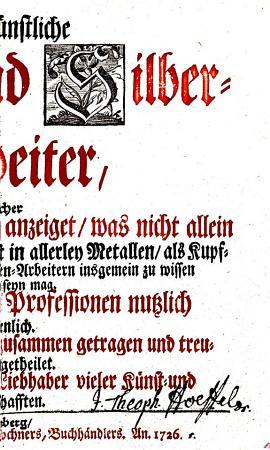 Der K  nstliche Gold  und Silber Arbeiter0 PDF