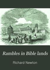 Rambles in Bible Lands