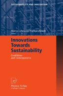 Innovations Towards Sustainability