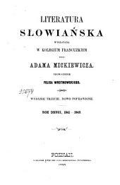 Literatura słowiańska wykładana w kolegium francuzkiem: Rok drugi, 1841-1842, Tom 2