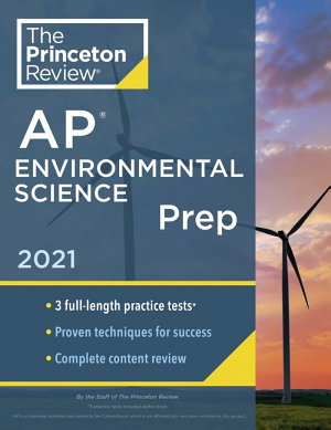 Princeton Review AP Environmental Science Prep 2021