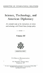 Science  Technology  and American Diplomacy PDF
