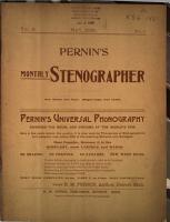 Pernin s Monthly Stenographer PDF