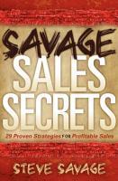 Savage Sales Secrets PDF