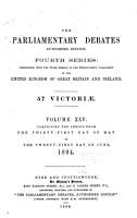 The Parliamentary Debates PDF