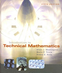 Introduction to Technical Mathematics Plus PDF