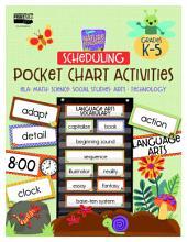 Nature Explorers Scheduling Pocket Chart Activities