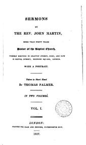 Sermons, taken in short hand by T. Palmer