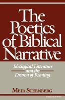 The Poetics of Biblical Narrative PDF