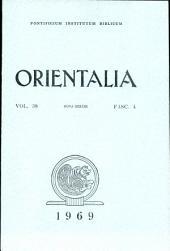 Orientalia Vol.38