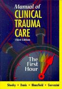 Manual of Clinical Trauma Care