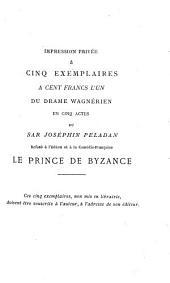 La décadence latine(Ethopée).: L'androgyne. VIII