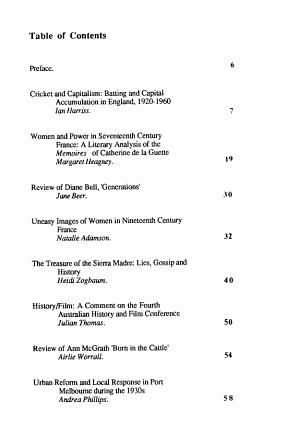 Melbourne Historical Journal PDF