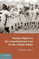 Human Rights in the Constitutional Law of the United States PDF