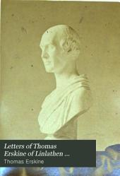 Letters of Thomas Erskine of Linlathen ...
