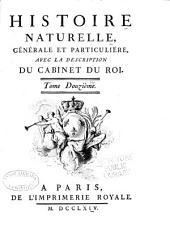 Histoire naturelle: générale et particulière, Volume12