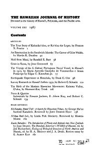 The Hawaiian Journal of History PDF