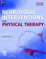 Neurologic Interventions for Physical Therapy PDF