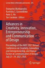 Advances in Creativity, Innovation, Entrepreneurship and Communication of Design