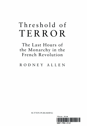 Threshold of Terror PDF