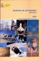 Memoria de Actividades de I D I 2003 PDF