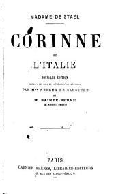 Corinne, ou, L'Italie