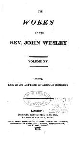The Works of the Rev. John Wesley: Volume 15