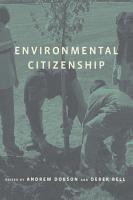 Environmental Citizenship PDF